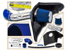 BCP BLUE 12-15 Camaro 3.6L V6 Heat Shield Cold Air Intake Induction Kit +Filter