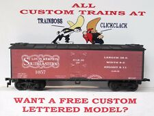 Ho Custom Lettered St.Louis Memphis & Southeastern Rr Freight Car Reefer. Lot A