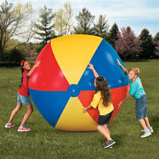 Large Beach Ball 2m Pool Party Beachball Inflatable Ball Party Fun Colorful