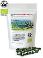 Organic Blue Green Algae Complex Capsules (Spirulina + Chlorella + Camu Camu)