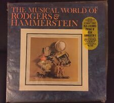 SEALED NEW The Musical World of Rodgers & Hammerstein 2 LP Vinyl Commemorative