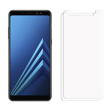 2 Clear LCD Samsung Galaxy A8 2018 Screen Protector Film Saver For Mobile Phone