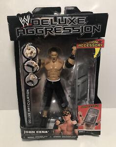 WWE JOHN CENA Deluxe Aggression Jakks Pacific w/ Chair Action Figure