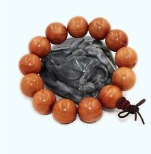 Chinese Nice 18mm Wood Beads Bracelet for Cool Man and Fashion Men's Jewelry