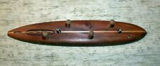 HANG FIVE Wood Surfboard Key Caddy Rack 14 inches long Handmade USED Free S/H