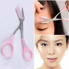 Women Beauty Folding Eyebrow Razor Trimmer Shaper Brow Shaver Hair Removal Tool