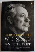 Unrecounted by W. G. Sebald (Paperback, 2005) poetry fiction book  penguin