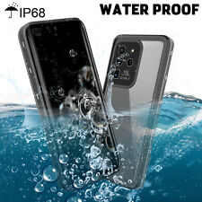 For Samsung Galaxy S20 Ultra Plus 5G Waterproof Phone Case with Screen Protector