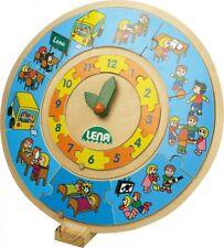Wood Puzzle Learning Clock Children Watch with Day & Nachtablauf