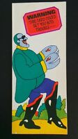 RARE ORIGINAL 1968 - 'THE BEATLES' YELLOW SUBMARINE - PEPSI UK PROMO CARD - 4