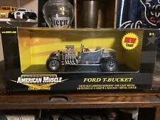 Ertl American Muscle 1:18 Chase Raw Ford T Bucket
