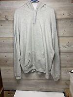 Hanes Men's Premium Cotton Heavyweight Pullover Hoodie Sweatshirt, Gray, 2X L106
