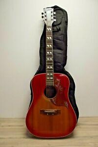 Vintage Columbus Hummingbird Acoustic Guitar Made in Japan 1960s/70s