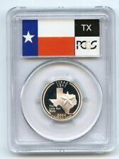 2004 S 25C Silver Texas Quarter PCGS PR70DCAM