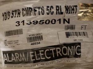 Honeywell Genesis 3139 18/9C Alarm/Communications Cable Plenum White /50ft