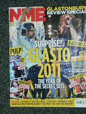 NME - 2 JULY 2011 - GLASTONBURY + RADIOHEAD + BEYONCE + THE VACCINES + COLDPLAY