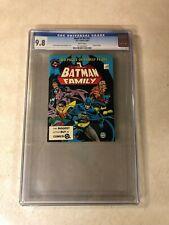 BATMAN FAMILY #51 CGC 9.8 NM/MT top graded BEST of DC BLUE RIBBON DIGEST 1984