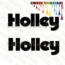 "2 of 8"" Holley aftermarket performance car window vinyl sticker decal"