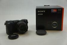 Sony Alpha A6500 24.2MP Digital Camera - Black w/ Vivitar 50mm 1:2