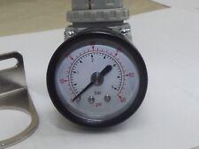 Air Regulator 0-60 psi - 4 bar max pressure, special Airbrush 1/4 Bsp ports