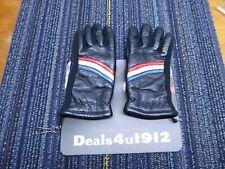 Vtg 70's J.M.Rubin & Sons Leather Ski Gloves Lined Ladies Women's Medium Vguc!
