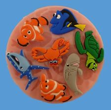 DISNEY FINDING DORY SILICONE MOULD FOR CAKE TOPPERS, CHOCOLATE, CLAY ETC