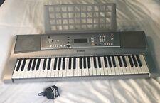 YAMAHA YPT-300 61-KEY ELECTRONIC KEYBOARD PIANO W/ POWER ADAPTER