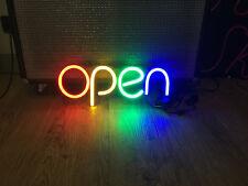 LEDOK LED Neon Sign Indoor Decoration Light Gift Store Window OPEN Sign #2
