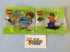 Lego Polybags Lot of 2 852996 & 5001121 New/Sealed/Retired/Hard to Find