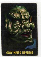 (Gv388-100) A. & B.C. Gum, Outer Limits, #46 Clay Mans Revenge 1966 VG