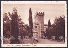 SIENA PIENZA 09 SPEDALETTO PICCOLOMINI CASTELLO Cartolina 1941