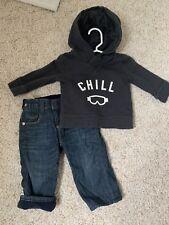 Baby Gap 6-12 Month Boys Jeans & Hoodie