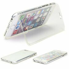 Urcover All-around Protection 360 ° Flip Wallet Full Body Touch Case Cover Clear