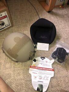 New OPS-CORE FAST Super High Cut Ballistic Helmet Size Large Tan,devgru