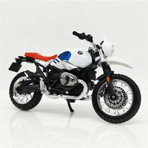 Bburago 1:18 BMW R nineT Urban GS White Blue Diecast Motorcycle