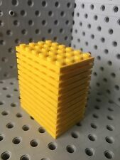 Lego Yellow 4x6 Base Plate New Lot Of 12 4 X 6 Roof Floor Building Bricks