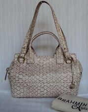 Brahmin Limited Edition Atelier Shell Small Hingham Satchel ~ Retail $795 ~