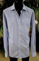 Eton Casual Shirt L 17-37 Sharp Stripes