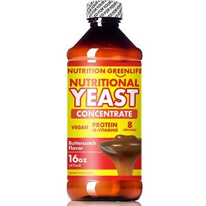 Nutritional Yeast Concentrate | Nutrition Greenlife | Vitamins + Proteins 16 oz