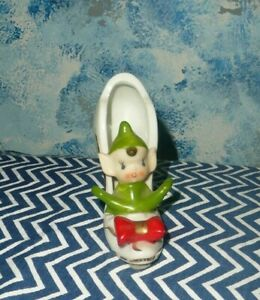 Vintage Elf in a Shoe *Rare and Cute!