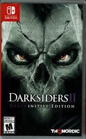 NEW Darksiders II 2 Deathinitive Edition Remastered Nintendo Switch Game ALL DLC