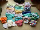 Cloth+Diapers+Lot+%28BumGenius%2C+Grovia%2C+Flip%29%2C+Inserts+and+Wet+Bags