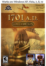 Anno 1701 Gold PC Game The Sunken Dragon Included