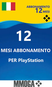 per PLAYSTATION PLUS Abbonamento 12 Mesi 365 Giorni P.S.N. PS3/4/5 PS Vita - IT