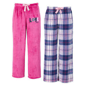 Nautica Sleep Pants 2 Pack Kids Fleece Pajama Bottoms VARIETY SIZE & COLOR