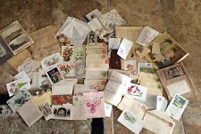Lot Antique Postcards Love Letters TX Weatherford Williams Chatwell Gressett