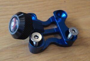 Archery Axcel Achieve recurve compound bow sight blue mount bracket & knob set