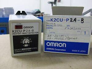OMRON   K2CU-P2A-B   HEATER FAULT DETECTOR