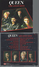 CD-QUEEN GREATEST HITS --MADE IN JAPAN --NO BARCODE