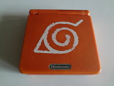 Game Boy Advance SP System Naruto Version Nintendo Japan LOOSE/C